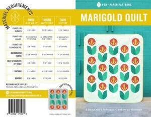 PEN + PAPER PATTERNS - MARIGOLD QUILT