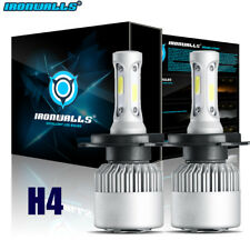 2X H4 HB2 9003 225000LM 1500W LED Headlight Bulb Kit Hi/Lo Beam High Power 6000K