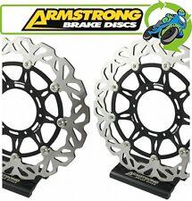 New Armstrong Wavy Front Brake Discs BKF702 Honda VTR 1000 FW Firestorm 98