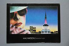 R&L Postcard: Athena Mal Watson Midnight Lady 1980s Pop Graphic Art