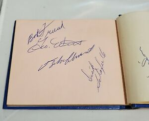 1958 Pittsburgh Pirates autographed signed scrapbook ROBERTO CLEMENTE