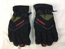 New listing Scott Ski Snowboarding Winter Junior Gloves Black Gray Waterproof Youth Size Xl