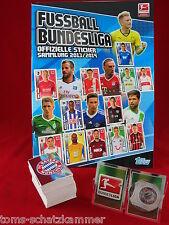 Topps Bundesliga 2013/2014 Satz komplett + Album = alle Sticker Penny 13/14