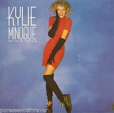 "KYLIE MINOGUE - Got To Be Certain (UK 2 Tk 1988 7"" Single PS)"
