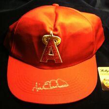 JIM EDMONDS Signed BASEBALL CAP Anaheim Angels