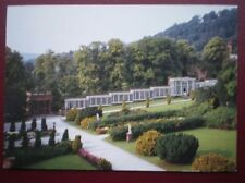 POSTCARD DERBYSHIRE CHATSWORTH GARDENS PAXTON'S WALL CASES