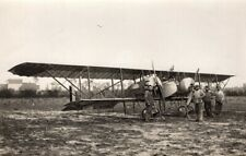 France WWI Military Aviation Bomber Caudron G4 Biplane Twin Engines Photo 1915