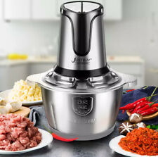 Stainless Steel Meat Grinder 2 speed 500w Chopper Electric Automatic Mincing