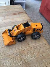 orange tonka front loader