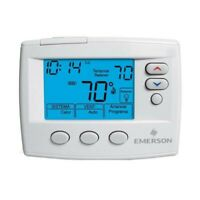 White Rodgers A/C Thermostat 1 Stage 24v Digital ( Prog.) Spanish Interface