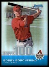 2010 Bowman Chrome Topps 100 Bobby Borchering Refractor #/499 #TPC26