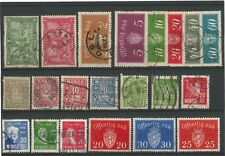 Norway Norge selection 1889 – 1946 with post due and official stamps