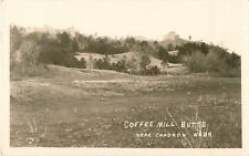c1920 Coffee Mill Butte, Near Chadron, Nebraska Real Photo Postcard/RPPC