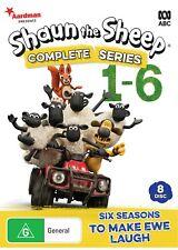 Shaun The Sheep Series 1 - 6 - DVD - Region 4