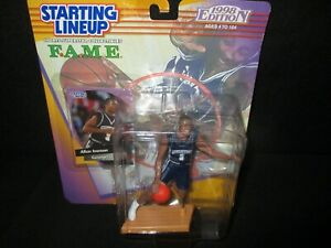 1998 FAME College Starting Lineup Allen Iverson Georgetown Rare Card 76ers