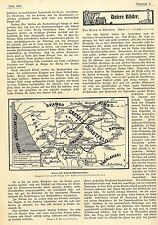 DSWA Karte der Fluchtweg u.Aufenthaltsorte der Herero (Textbeitrag) c.1904