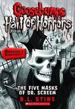 The Five Masks of Dr. Screem by R L Stine (Paperback / softback, 2011)