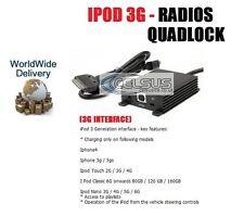 POUR VOLKSWAGEN GOLF PASSAT POLO SCIROCCO TIGUAN TOUAREG IPOD 3G RADIO QUADLOCK