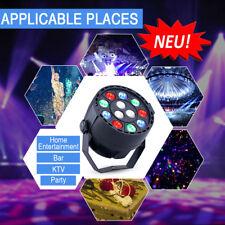 12LED RGBW Party Licht-effekt DMX512 Bühnenlicht DJ Disco Strobe PAR Licht