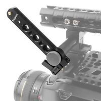 SMALLRIG Safety NATO Rail (4'') with 15mm Rod Clamp Mount For DSLR EVF Support