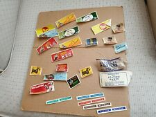 TRIANG/HORNBY DUBLO MECCANO MINIATURE POSTERS & STATION NAMES (A12)