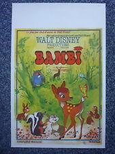 BAMBI Original 1947 Belgian Movie Poster Hardie Albright, Stan Alexander