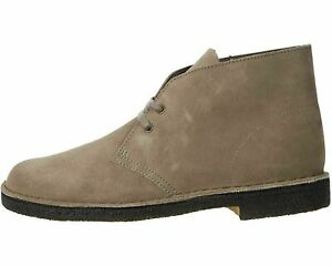 Clarks Desert Boot Grey Suede Men's Lace Up Chukka Boots 61792