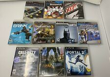 Sony PlayStation 3 PS3 Video Game Bundle Lot of 10 games Uncharted Batman 007