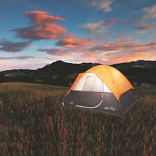 Coleman 2000018087 10-Foot x 10-Foot 6-Person Moraine Park Dome Tent - Orange