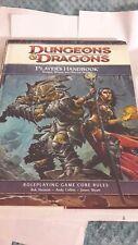 Dungeons & Dragons Player's Handbook 4E Core Rules WotC RPG d20