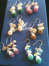Swarovski Rhodium Plated Fashion Earrings