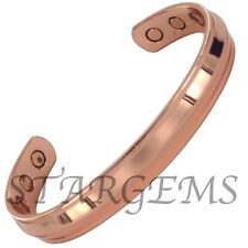 PERSONALISED XMAS GIFT SHINY COPPER MAGNETIC BRACELET ARTHRITIS PAIN RELIEF BAND