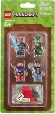 PRONTA CONSEGNA - LEGO 853609 MINECRAFT™ SKIN PACK 1 - NOVITÀ ESCLUSIVA