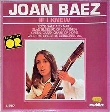 33t Joan Baez - If i knew (LP)