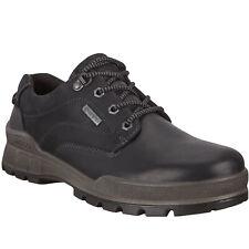 Ecco Mens Track 25 Leather GORE-TEX Waterproof Hiking Walking Shoes - Black