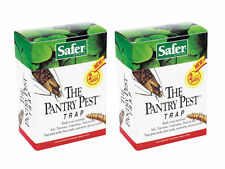 Safer Brand 05140 The Pantry Pest Trap, 2 PACKS OF 2 Moth Traps (4 Total) NEW