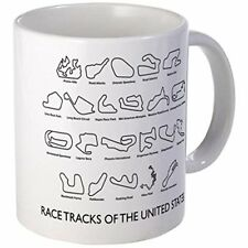 11oz mug Race Tracks of the United States