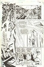 Genesis New Gods #1 p.18 - Signed art by Ron Wagner & Joe Rubinstein Comic Art