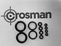Crosman CO2 Valve O-Ring / Seal Replacement kit, Bolt seals + Free Lube