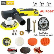 "6"" Dual Action Car Polisher Buffer Sander Waxer Waxing Machine Polishing Pad Kit"