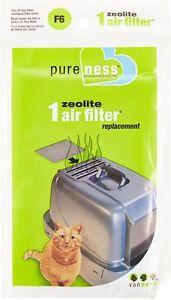 Van Ness Pureness Zeolite Cat Air Filter Replacement Lasts 3 Months