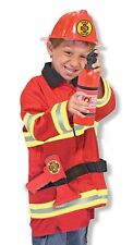 Childrens Fancy Dress Fireman Costume Role Playing Game
