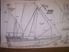 ARAB DHOW ship plan