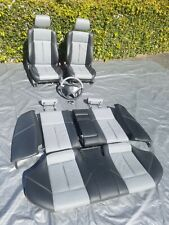 Mercedes W202 front rear grey black Leather Seats c36 c43 c280 c230 AMG BRABUS
