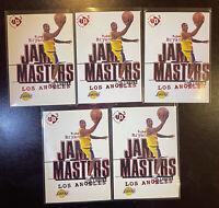1997 Upper Deck UD3 Kobe Bryant Jam Masters Rookie RC #19 x5 Los Angeles Lakers