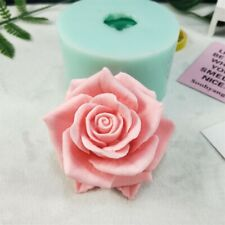 HC0190 3D Bouquet of Rose Shaped Gift Handmade Soap Candle Silicone Gel Mold