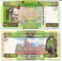 100 Francs 1998 Guinea // Africa #877 P-35 Uncirculated