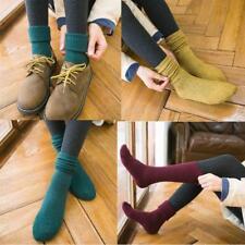 3 pairs Mongolia Cashmere Women Girls Boot Socks Warm Thicken Pure Wool Socks