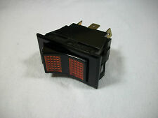 Lighted ILLUMINATED Rocker Switch 3 Position On/Off/On Marine Boat RV