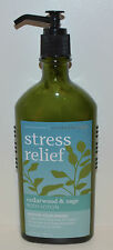 BATH & BODY WORKS AROMATHERAPY STRESS RELIEF CEDARWOOD SAGE CREAM LOTION PUMP